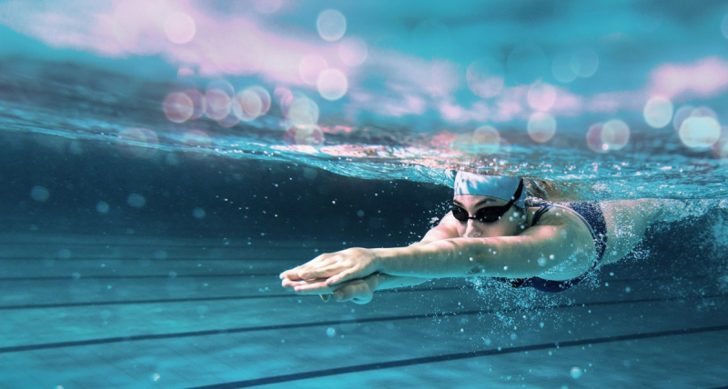 Bơi lội là môn thể thao lí tưởng cải thiện lượng máu trong cơ thể. Bơi lội thúc đẩy tuần hoàn máu của hệ thống huyết quản.