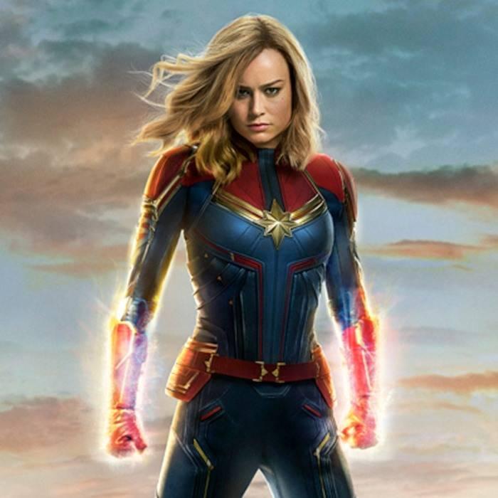 Captain Marvel với tạo hình mạnh mẽ do Brie Larson thủ vai