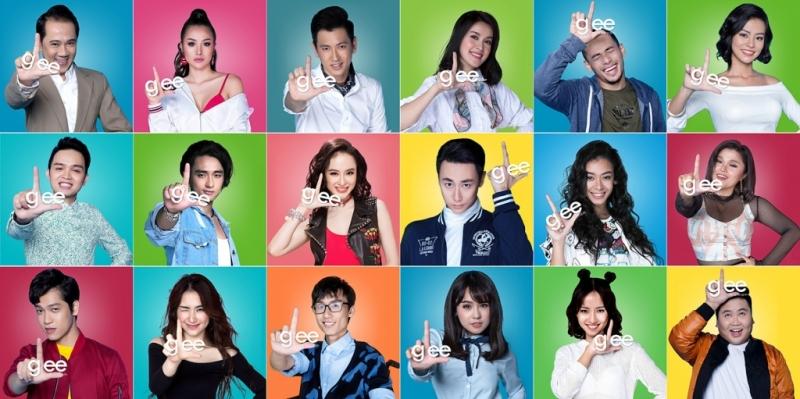 Các nhân vật trong Glee Vietnam