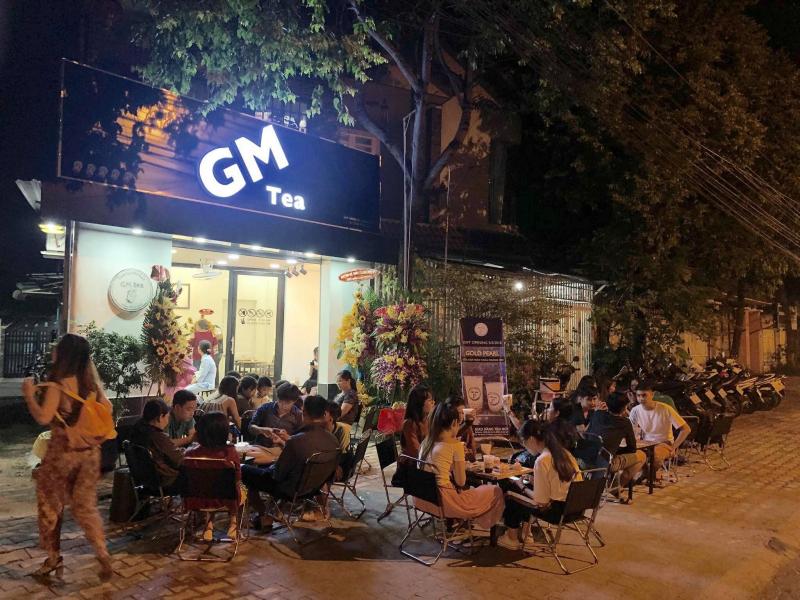 GM tea là địa chỉ cafe ở Bình Dương bạn nhất định không thể bỏ qua.