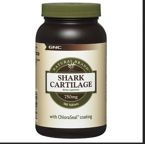 GNC Natural Brand Shark Cartilage 750 mg
