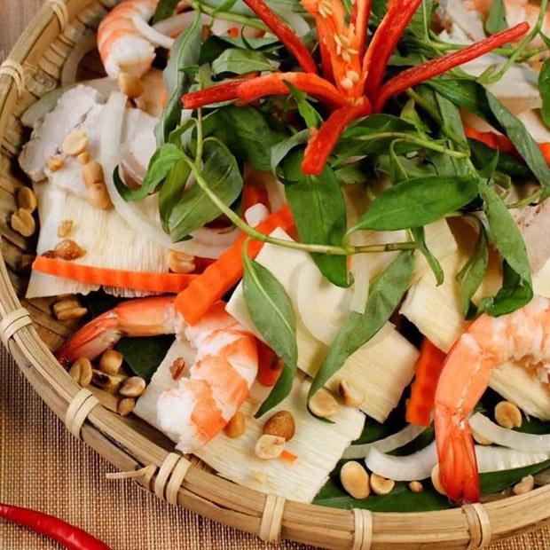 Gỏi Củ Hủ Dừa Tôm Thịt