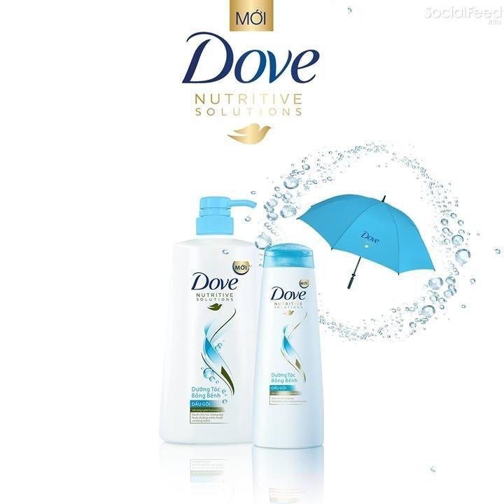 Dầu gội Dove bồng bềnh