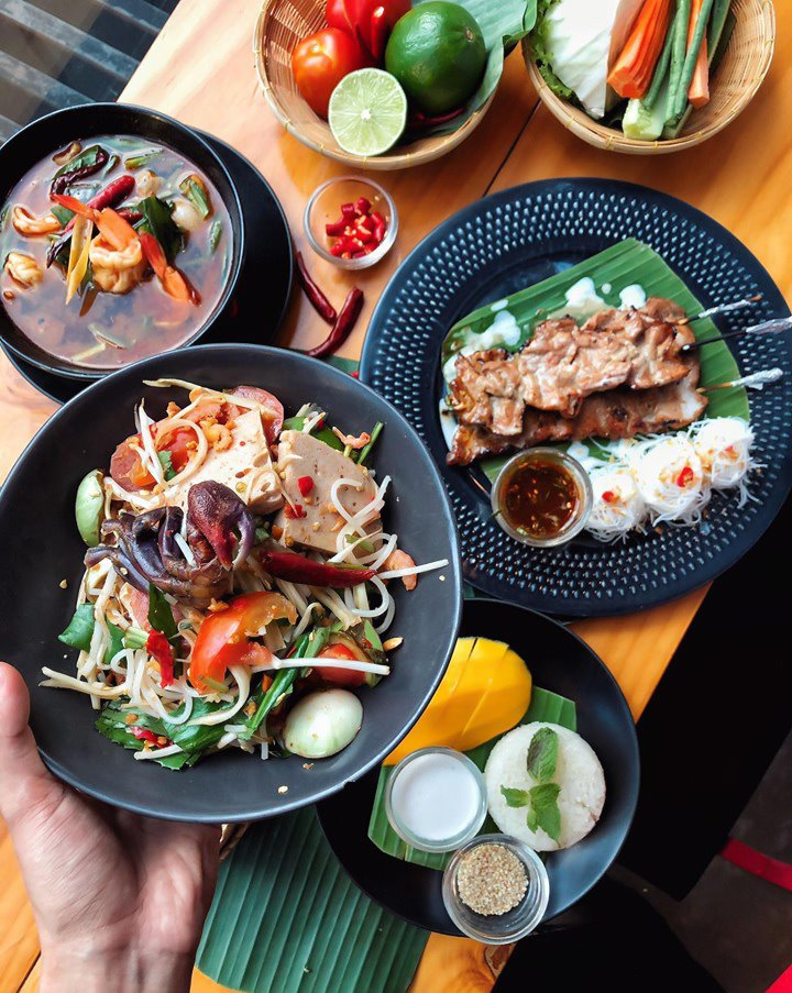 Gỏi Sốt Thái Anong