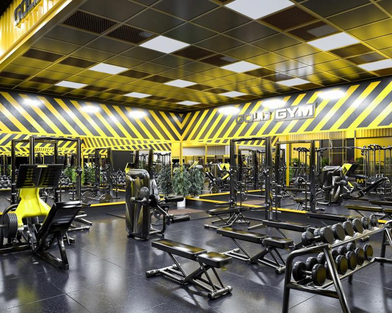 Gold Gym Center Tiền Giang có trang thiết bị hiện đại