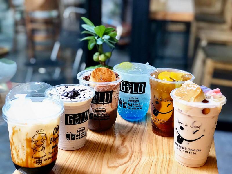 GOLD Milk tea & Coffee