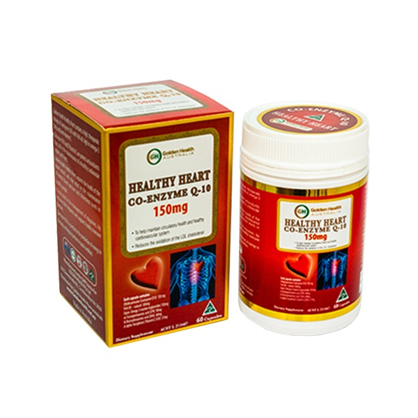 Golden Health Healthy Heart Co-Enzyme Q-10