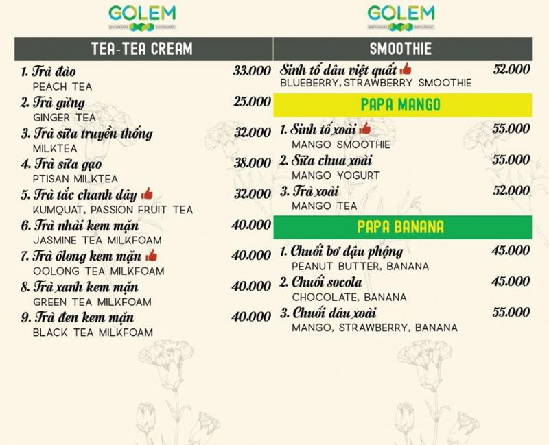 Golem Coffee Đà Nẵng