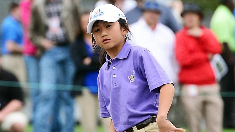 Golf thủ nhí, Kelly Xu