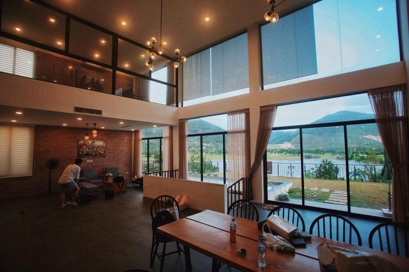 Vẻ đẹp lung linh của Golf View Villa Homestay Tam Đảo
