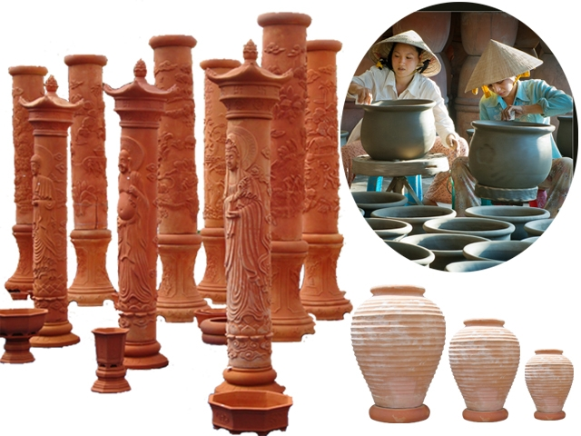 Tập trung vào sản phẩm gốm giả cổ, gốm trang trí men, gốm nung đỏ, gốm Vĩnh Long được các nhà nghề và những người yêu màu sắc truyền thống lựa chọn.