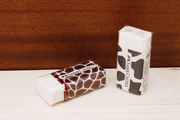 Gôm Motif Giraffe Faber-Castell 284600 được làm từ cao su Vinyl với độ đàn hồi và dẻo dai cao, chống gãy tối đa