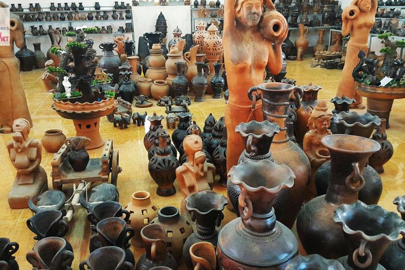 Sản phẩm gốm sứ Bàu Trúc
