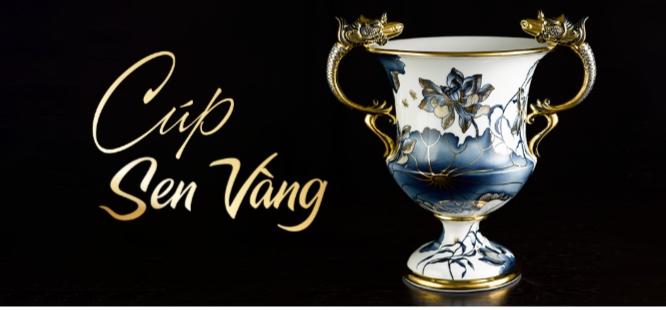 Minh Long phải mất 4 năm trời với 22 nghệ nhân để hoàn thành kiệt tác có một không hai Cúp Sen Vàng - chiếc cúp bằng sứ liền khối lớn nhất Việt Nam.