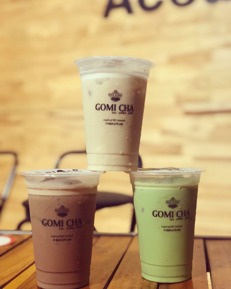 Mộc Châu Acoustic Café -Trà sữa Gomicha