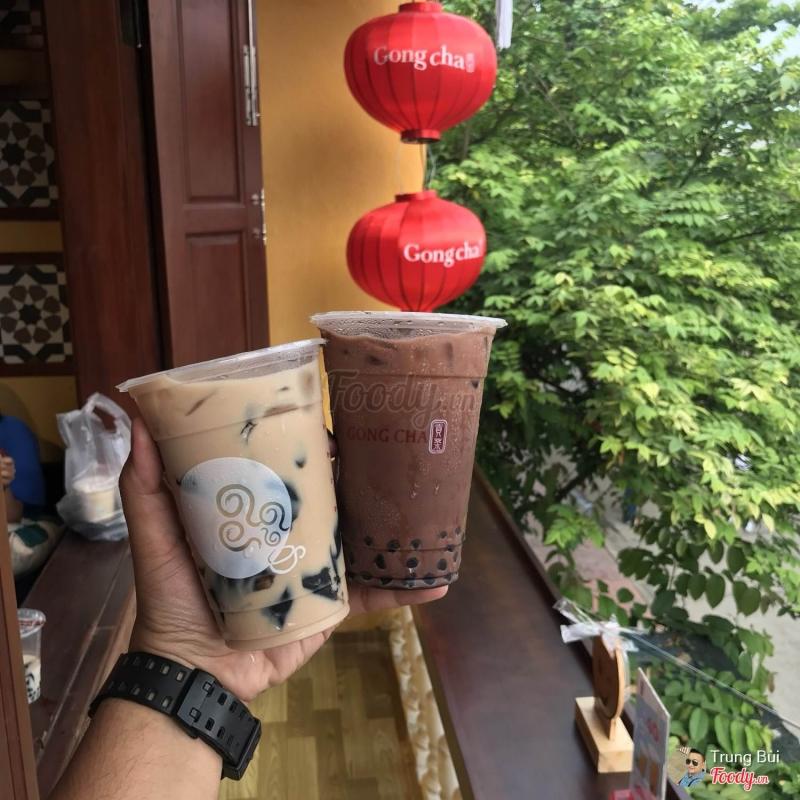 Khách hàng ở Gong Cha.