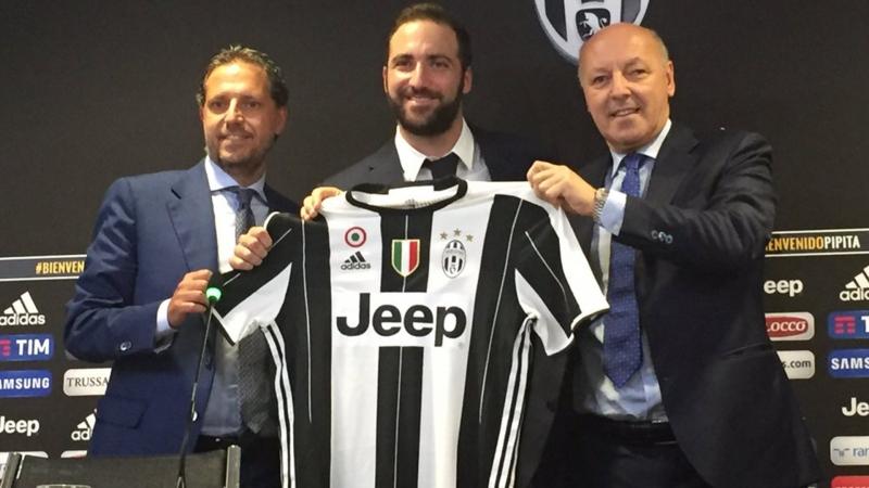 Higuain được các CĐV Juventus kỳ vọng rất nhiều