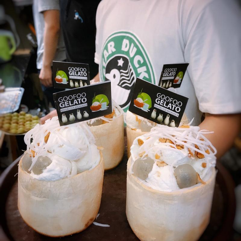 Goofoo Gelato là một quán kem xinh xinh được đánh giá tích cực về chất lượng của kem và phục vụ