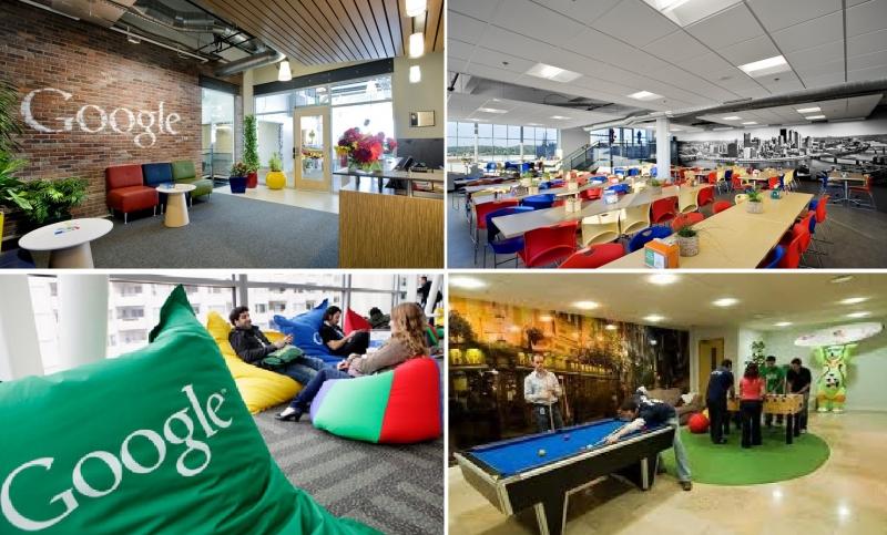 Google luôn là hình mẫu để các công ty khác học hỏi