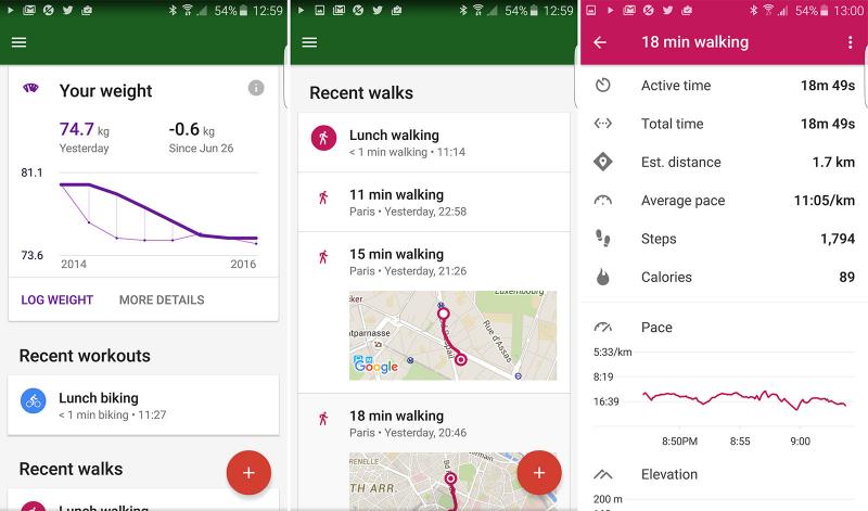 Ứng dụng sức khỏe toàn diện Google Fit