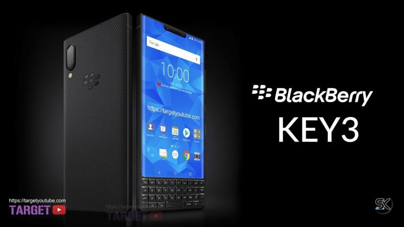 Concept của BlackBerry Key3