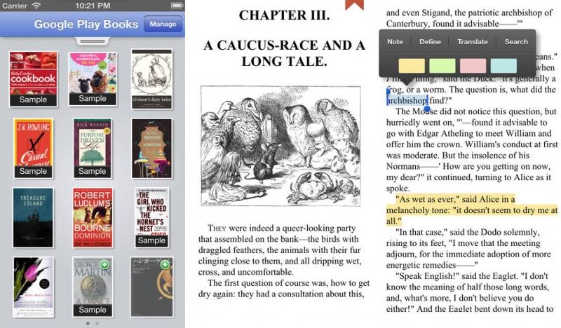 Google Play Sách