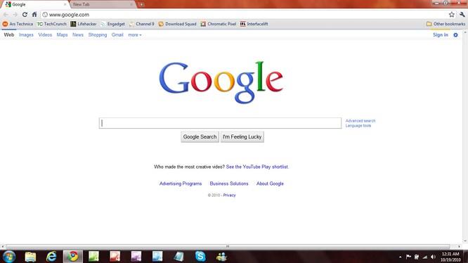 Website Google.com