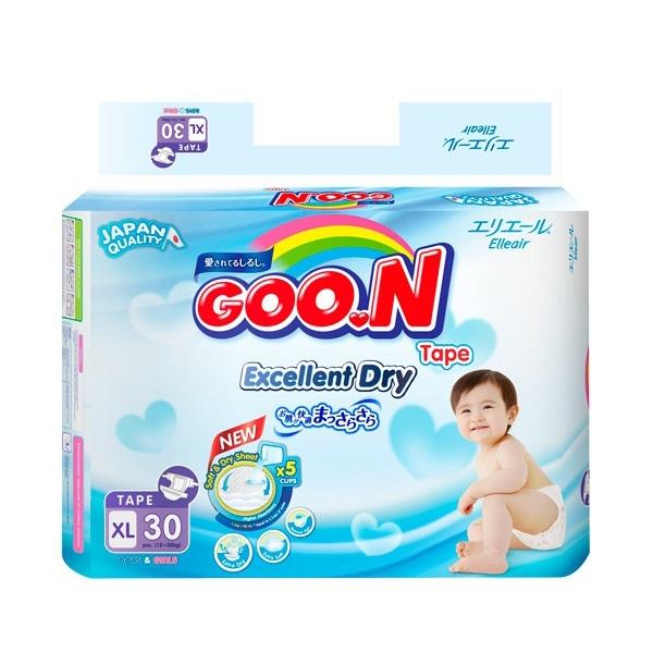 Nhãn hiệu tã giấy cao cấp Goo.n là thương hiệu tã hàng đầu tại thị trường Nhật Bản
