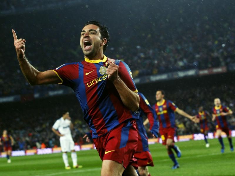 Cầu thủ đang giữ kỷ lục: Xavi Hernández (505 trận)