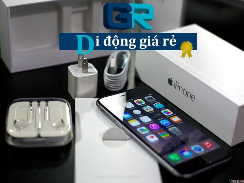 Các sản phẩm iPhone tại GR - Di động giá rẻ luôn có giá rẻ so với thị trường