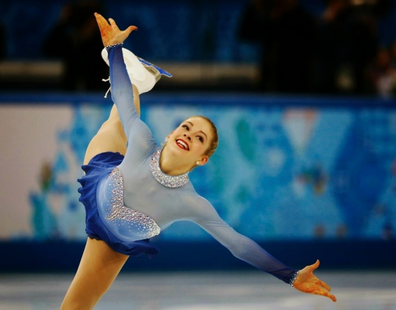 Gracie Gold là nữ vận động viên trượt băng nghệ thuật nổi tiếng của nước Mỹ.