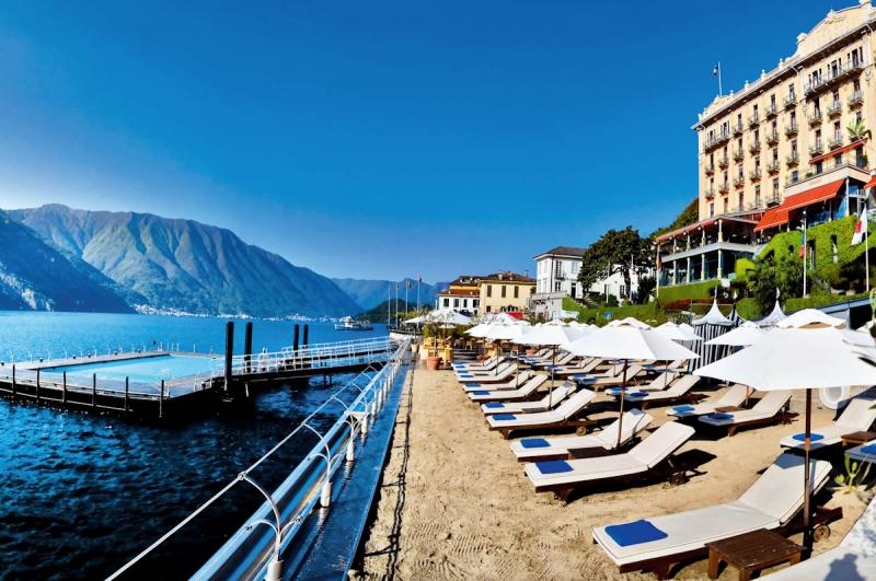 Grand Hotel Tremezzo, Hồ Como