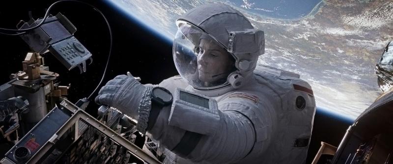 Cảnh phim Gravity
