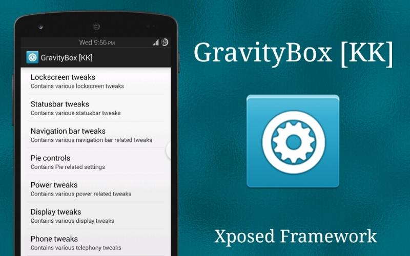 GravityBox - ứng dụng hay cho Android đã root