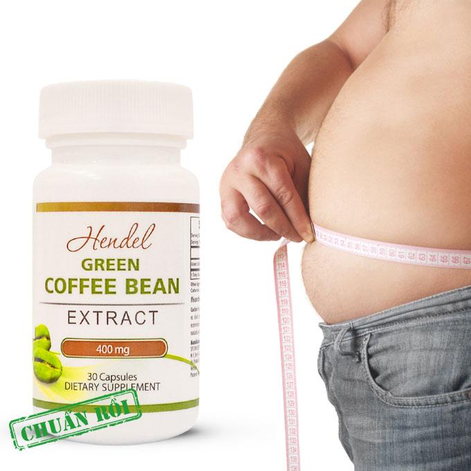 Green Coffee Bean 400Mg Hỗ Trợ Giảm Cân Hiệu Quả Cho Người Thừa Cân