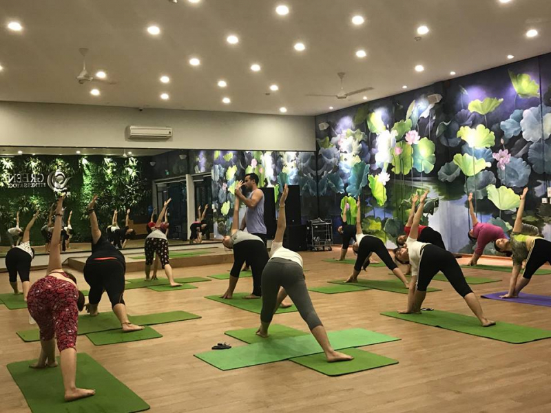 Green fitness and Yoga Hạ Long