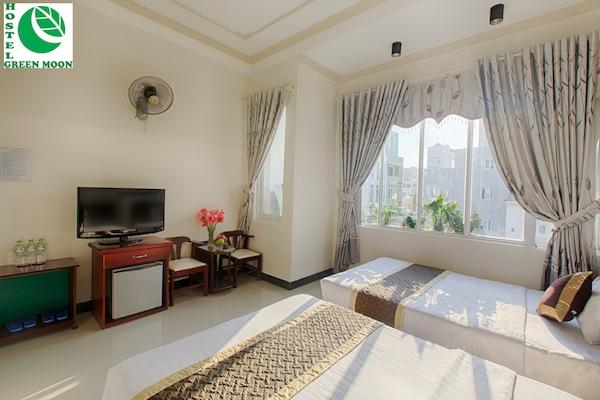 Khách hàng có thể chọn lựa trong 20 phòng có không gian hoàn toàn yên bình và thư giãn