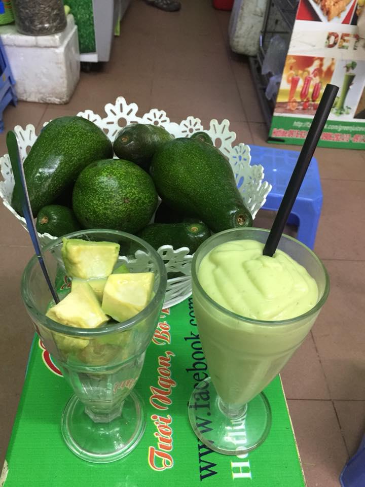 Green - Sinh tố, nước ép, hoa quả dầm
