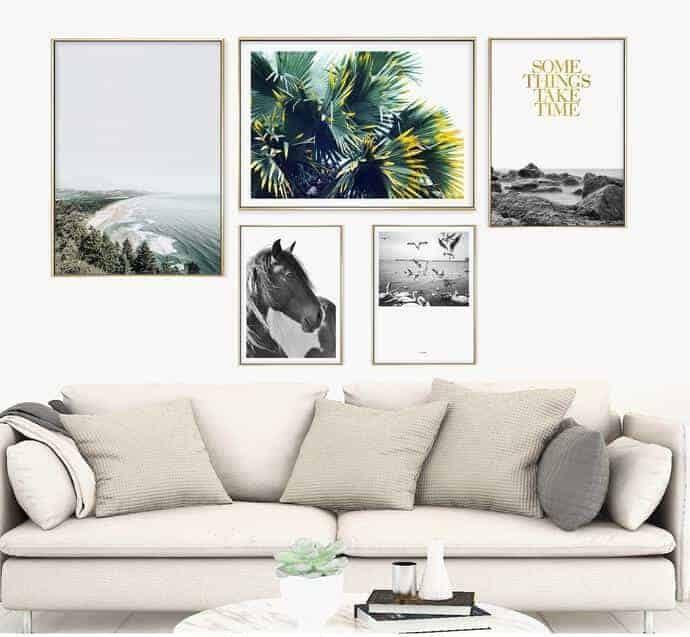 Green - Tranh canvas trang trí nội thất