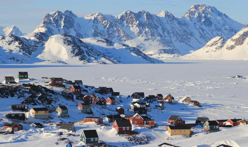 Greenland mang vẻ đẹp rộng lớn và hùng vĩ.