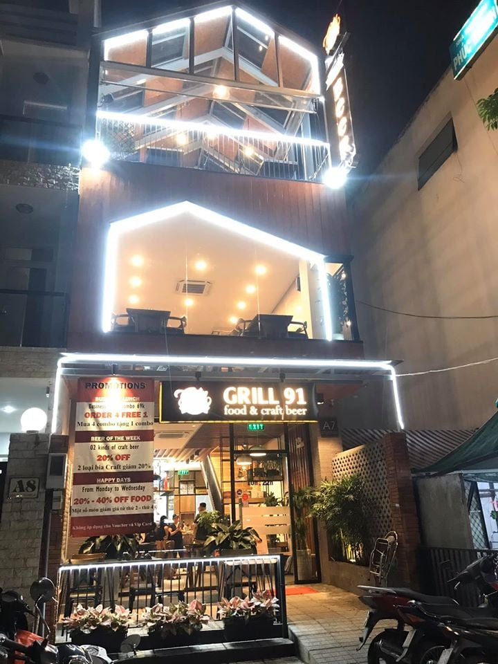 Grill 91 - Food & Craft Beer - Đường D4