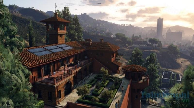 Đồ họa đẹp mắt trong GTA V