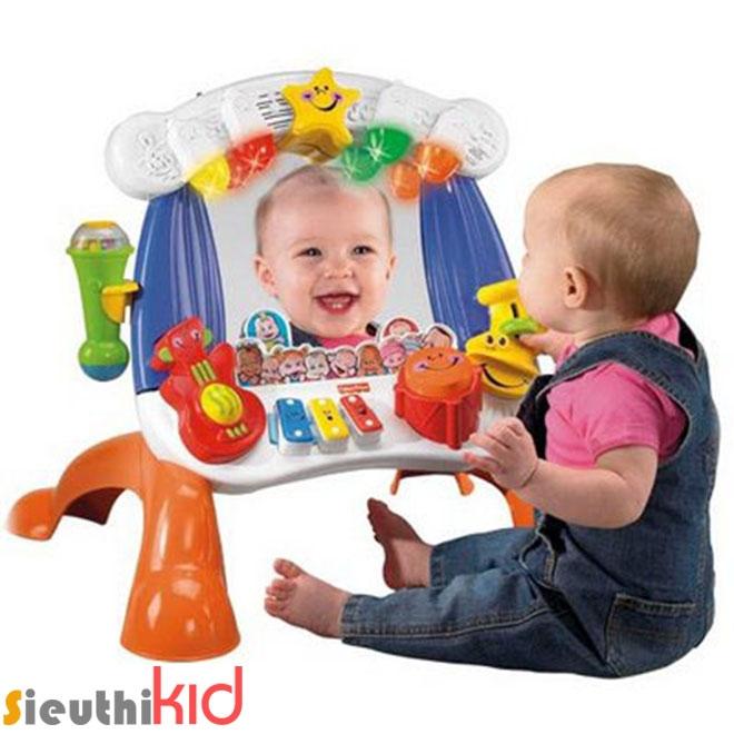 Đồ chơi an toàn cho trẻ - gương