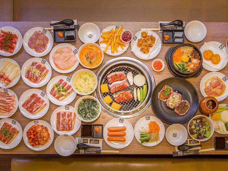 Thịt nướng thượng hạng tại Gyu - Kaku
