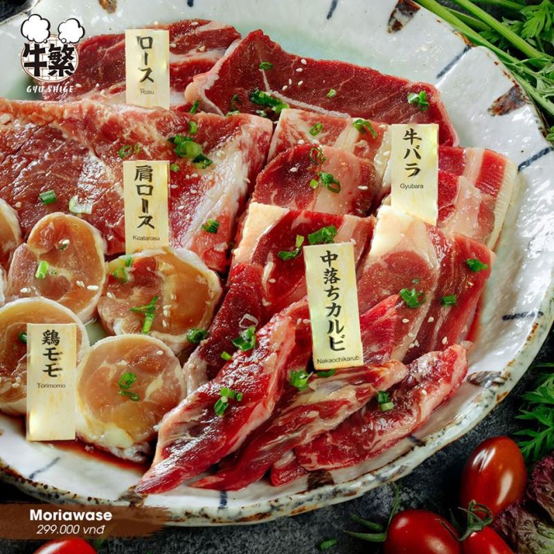 Nhiều loại thịt đa dạng sốt ướp