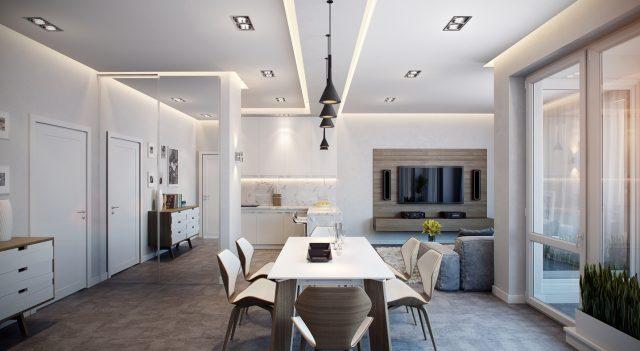 Phòng bếp ăn rất lý tưởng để đáp ứng công năng sinh hoạt tiện ích mà gia chủ mong đợi