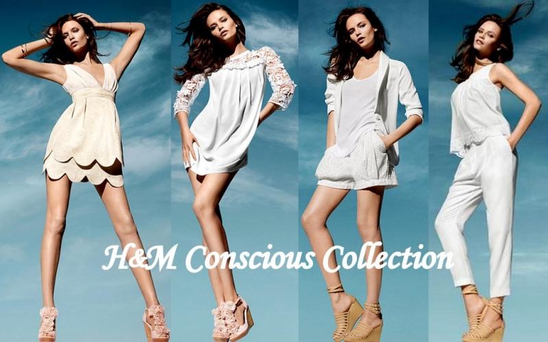 Bộ sưu tập H&M Concious Colletion luôn sử dụng chất liệu bảo vệ môi trường.