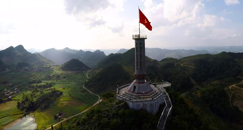 Cột cờ Lũng Cú Hà Giang.