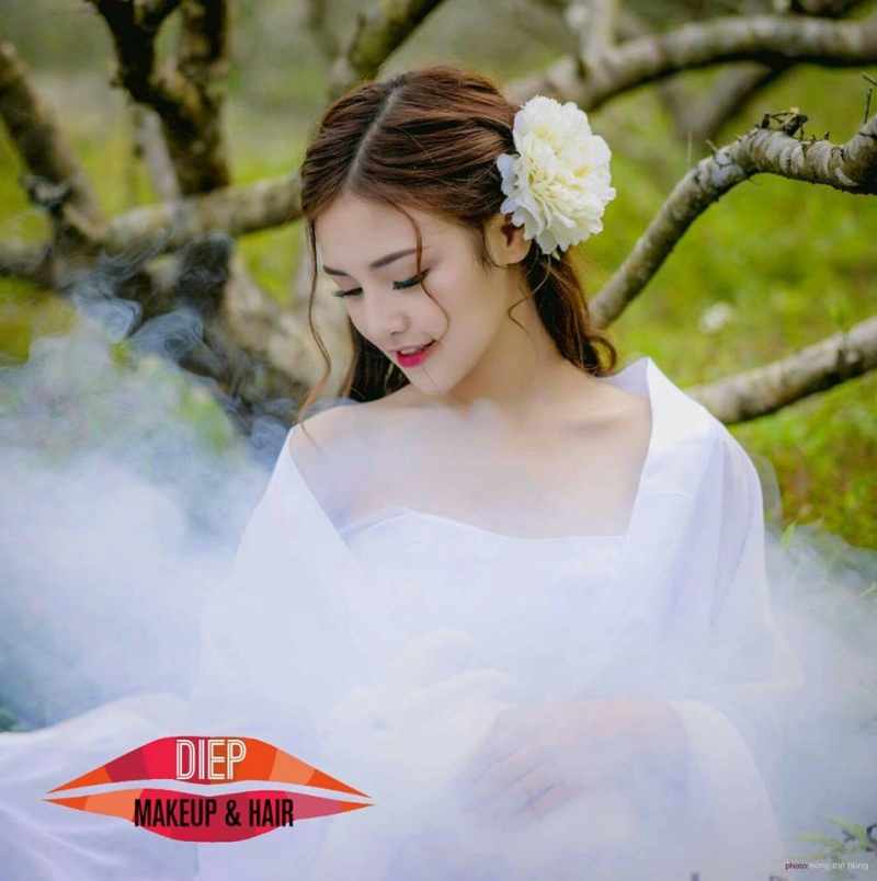 Hà Hoàng Diệp make Up
