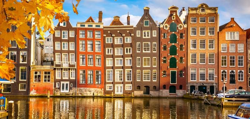 Một thành phố ở Hà Lan